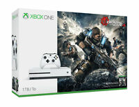 Microsoft XBOX ONE S Gears Of War 4 Bundle 1TB White Console BRAND NEW SEALED