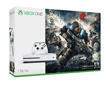 Microsoft Xbox One S Gears of War 4 Bundle 1TB White Console / Brand New