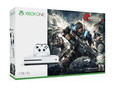 Microsoft Xbox One S Gears of War 4 BUNDLE CONSOLE 1TB Bianco