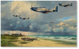 Beyond the Storm by Anthony Saunders - American Eighth Air Force - P-51 Mustangs