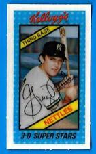 1980 Kellogg's GRAIG NETTLES (ex-mt) New York Yankees