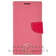 Samsung N9005 Galaxy Note 3 Mercury Wallet Case Pink/Hot Pink Shell Protector