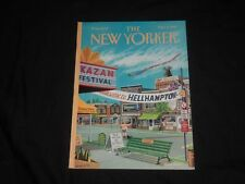 1999 SEPTEMBER 6 THE NEW YORKER MAGAZINE - ILLUSTRATED COVER - NY 1869