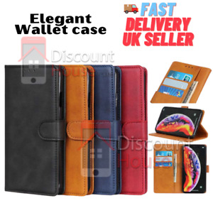 Quality PU Leather Flip Wallet Mobile Phone Case For Samsung A10 A10S A20 A20S