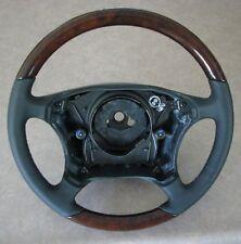 New Mercedes W220 S/ Class 350 430 500 600 Steering Wheel Walnut Wood Leather