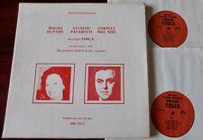 HRE 312-2 PUCCINI TOSCA 2-LP OLIVERO PAVAROTTI LIVE DALLAS 1979 EX++ (1980) USA