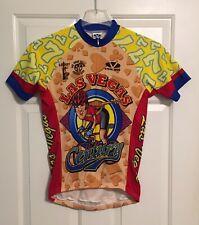 Rare Las Vegas Century Men's cycling jersey Sz S Elvis Presley EUC