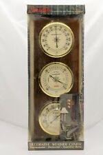 VINTAGE NOS Sunbeam Decorarive Weather Center Thermometer Barometer Humidty USA
