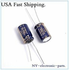 (10pcs) 1500uf 10v Rubycon Electrolytic Capacitor 10v1500uf MBZ Ultra Low ESR