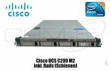 Cisco UCS C200 M2 Server 2x Intel Xeon x5660 CPU 2x 500GB HDD 48GB RAM LAN Rails