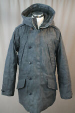 NEW J.CREW COLLECTION JAPANESE DENIM BURBRIDGE PARKA B6798 S WINTER COAT $595