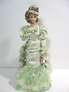 Barbie Mint Memories Victorian Porcelain Doll in Original Box - Limited Ed. 1998