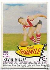 """1966 Scanlens (56) Kevin MILLER South Fremantle  """" """""""