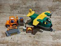Lego Duplo 5594 Cargo Plane Complete Set