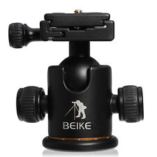 "BEIKE BK-03 Camera Tripod Monopod Ball Head Quick Release Plate 1/4"" For DSLR AU"