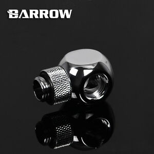 "Barrow G1/4"" Silver Rotary Cuboid O (4 way) Fitting Adapter - 149"