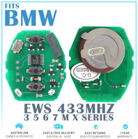 Fits BMW EWS Remote 3 Button Board 433MHZ With ID44 CHIP & Battery Keyless Key
