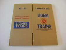 Lionel  KW  Corrugated Transformer  Reproduction  Box w/two inserts