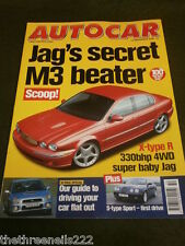 AUTOCAR - JAGUAR X TYPE R - DEC 13 2000