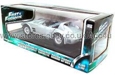 Fast & Furious Five 5 Dom's Silver Chevrolet Corvette Grand Sport Diecast Model
