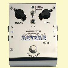 "Biyang RV-8 Stereo ""Reverb"" Guitar Effects Pedal Biyang RV-8 Reverb Pedal"
