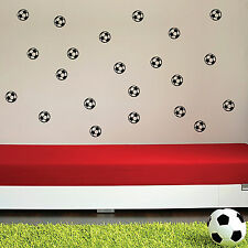 20 X Football Kids Nursery Bedroom Wall Art Stickers, Wall Decals, Wall  Graphics Part 79