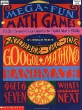 Mega-Fun Math Games: 70 Quick-and-Easy Games to Build Math Skills (Grades 2-5)