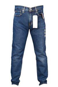 Men's Levi's Jeans 502 Flex Eco Performance Taper Stretch Blue 29507-0782
