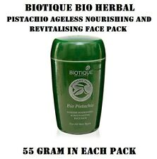 1 PACK OF BIOTIQUE BIO PISTACHIO AGELESS NOURISHING & REVITALIZING FACE PACK