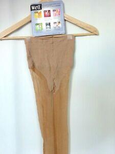 Tights WELL Body Shape 20 Veil Lycra New Size 3 FR44/46 UK9.5 USA /D42/ 44