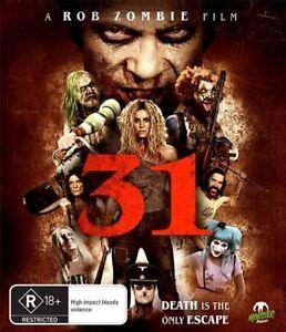 31 - A Rob Zombie Film Blu-ray Region B New!