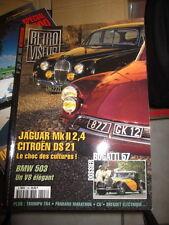 RETROVISEUR n°128 : Dossier: BUGATTI 57 - Citroën DS 21