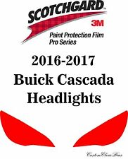 3M Scotchgard Paint Protection Film Pro Series Clear Bra 2016 2017 Buick Cascada