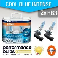 HB3 (9005) Osram Cool Blue Intense BMW 5 Touring (E39) 97-04 High Beam Bulbs