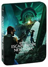 ESCAPE FROM NEW YORK (Steelbook) - Region A - BLU RAY - Sealed