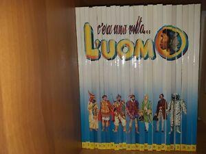 """Libri bambini """"C'era una volta... l'uomo"""" De Agostini opera completa 26 volumi"""