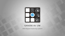 GAN356 AIR UM 3x3x3 Magnet Positioning System Magic Cube Puzzle Toy Black Body