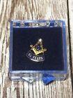 55 Years Freemason Masonic Lapel Pin With Case