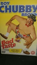 Roy Chubby Brown:- Bad Taste - DVD (2003) Roy 'Chubby' Brown - Adult Stand-Up