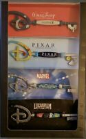 Disney Studios Collectible Key Set of 4 - Marvel-Pixar-Star Wars In Hand Fast