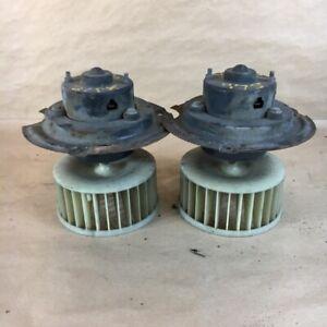 OEM 1968-73 Jaguar XJ12 Heater Blower Motor Right + Left Side Set Original Parts