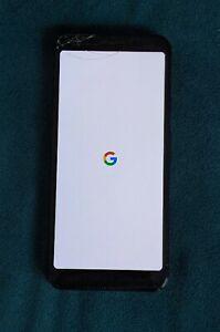 Google Pixel 3a - 64GB - Just Black (Unlocked) (Single SIM) - Cracked Screen