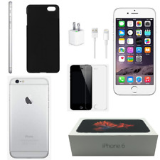 APPLE - IPHONE 6 128GB SILVER FACTORY UNLOCKED - HOLIDAY TECH GIFT BUNDLES -SAVE