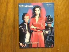 May 1,1983 Detroit News Television Magazine(V/Marc Singer/Jane Badler)
