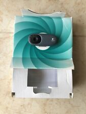 Logitech Webcam (C110 V-U0024) USB 2.0 Fold Up Clip-On Webcam Built In Mic