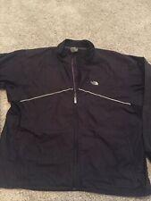 The North Face Windbreaker Jacket Full Zip Black Men's Size XXL