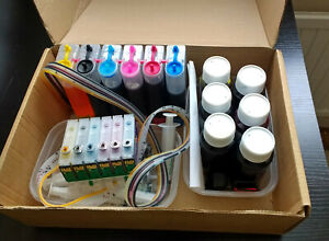 CISS CONTINUOUS INK SUPPLY SYSTEM FOR EPSON 1500W & 1400 PHOTO PRINTERS