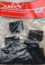 Durite-Batería Terminal Abrazadera Cubierta de goma negro Pk10 - 2-558-99