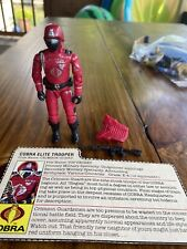 Gi joe ~ 2004 Crimson Guard Troopers ~ Operation Crimson sabotage ~ 100/%