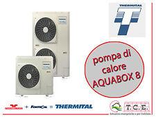 Pompa di calore monoblocco aria acqua reversibile THERMITAL mod. AQUABOX 8 8kW